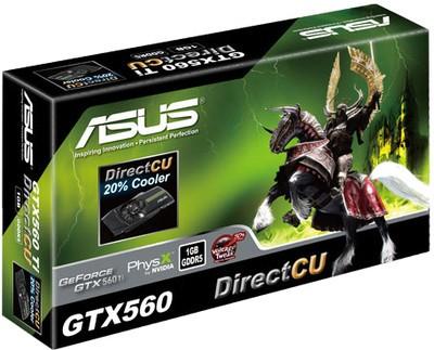Buy Asus NVIDIA GeForce GTX 560 1 GB GDDR5 Graphics Card: Graphics Card