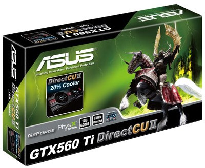 Buy Asus NVIDIA GTX 560 Ti Direct CUII 1 GB DDR5 Graphics Card: Graphics Card