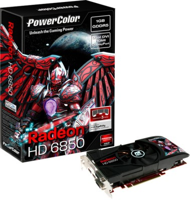 Buy PowerColor AMD/ATI Radeon HD6850 1 GB GDDR5 Graphics Card: Graphics Card