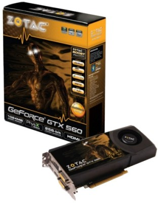 Buy ZOTAC NVIDIA GeForce GTX 560 1 GB DDR5 Graphics Card: Graphics Card