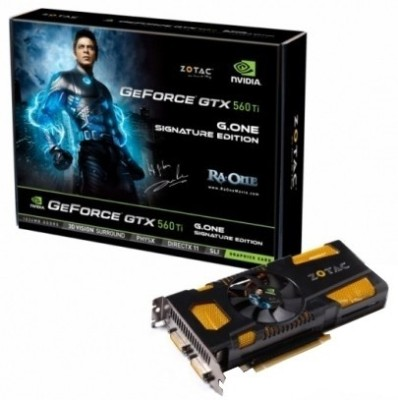 Buy ZOTAC NVIDIA GeForce GTX 560 Ti G.One Signature Edition 1 GB DDR5 Graphics Card: Graphics Card