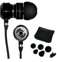 Tekfusion - Twinwoofers In-Ear Headphones Black Chrome Edition: Headphone