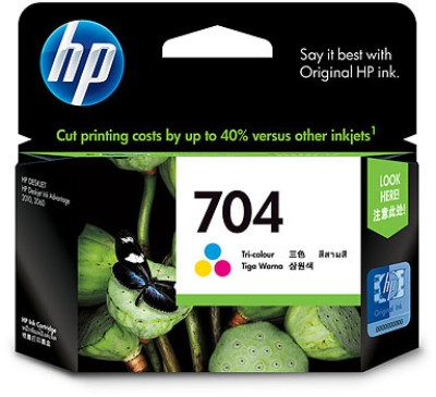 Buy HP 704 Tricolor Ink Cartridge: Inks & Toners