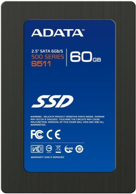 Buy ADATA 500 Series 60 GB SSD Internal Hard Drive (S511): Internal Hard Drive