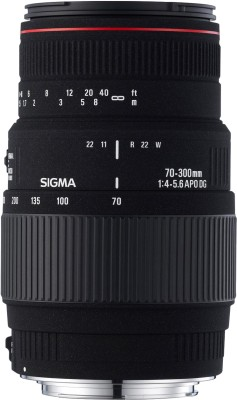 Sigma 70 300 mm F4 5.6 APO DG Macro Motorized for Nikon Digtital SLR