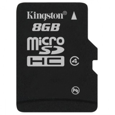 Buy Kingston MicroSD Card 8 GB Class 4: Memory Card