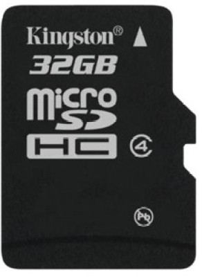 Kingston 32GB Class 4 MicroSDHC Memory Card