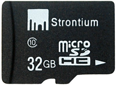 Buy Strontium Memory Card 32 GB MicroSDHC Memory Card (Class 10): Memory Card