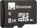 Strontium MicroSD Card 8 GB Class 4: Memory Card