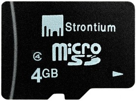 Strontium 4GB (Class 4) MicroSD Memory Card