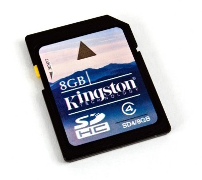 Buy Kingston SDHC 8 GB Class 4: Memory Card