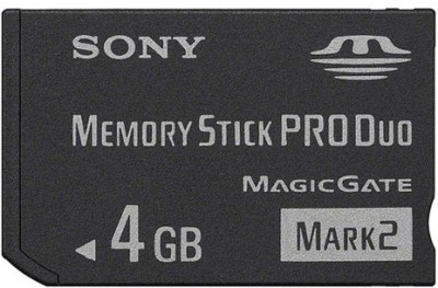 Buy Sony PRO Duo MARK2 MS-MT4G (4 GB) Memory Card: Memory Card