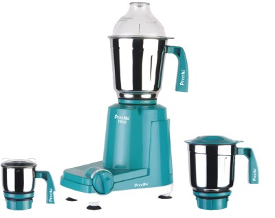 Preethi Trio   MG 158 500 Mixer Grinder Blue with White base available at Flipkart for Rs.2997