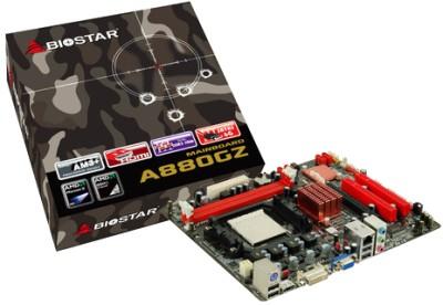 Buy Biostar A880GZ Motherboard: Motherboard