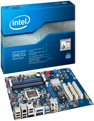 Buy Intel DH67CL with i3-2100 Processor Motherboard: Motherboard