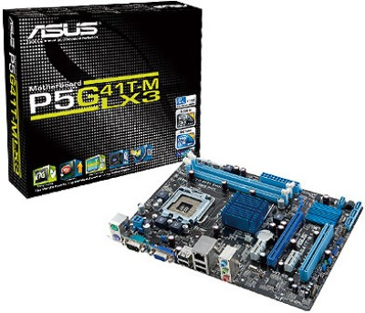 Buy ASUS P5G41T-M LX3 Motherboard: Motherboard