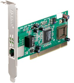 D-Link DGE-528T 32 bit 10/100/1000Base-T PCI Adapter Network Interface Card