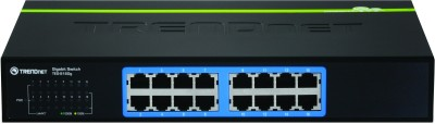 Buy TRENDnet 16-Port Gigabit GREENnet Switch Network Switch: Network Switch