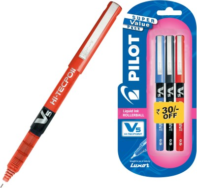 Buy Pilot V5 (Pack of 3) Fineliner Pen: Pen