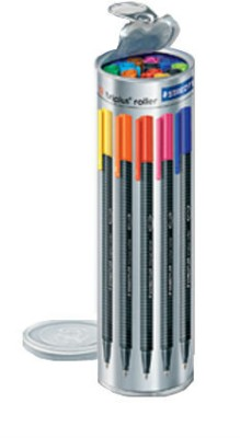 Staedtler Roller Ball Pen - 10 Brilliant Colours