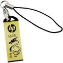 HP V228g 16 GB Pen Drive - Gold