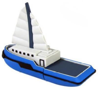Microware Ship Boat Yacht Shape Designer 8 GB Pendrive