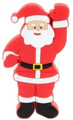 Microware Santa Claus Raising Hand Shape 4 GB