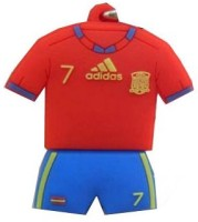 Microware Football Jersey Shape Designer 8 GB Pendrive: Pendrive