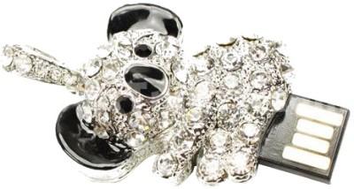 Microware Panda Shape Jewellery Designer Pen Drive 8 GB