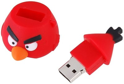Buy Microware Angry Bird Shape 4 GB Pen Drive: Pendrive