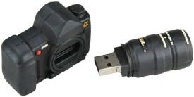 Microware Camera Shape Designer 8 GB Pen Drive
