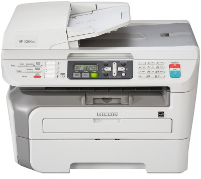 Buy Ricoh A4 Mono MFP - Aficio SP 1200SF Multifunction Laser Printer: Printer