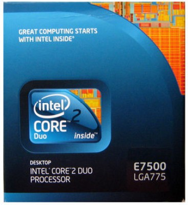 Buy Intel 2.93 GHz LGA 775 Core 2 Duo E7500 Processor: Processor