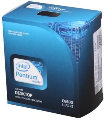 Buy Intel 3.06 GHz LGA 775 Dual Core E6600 Processor: Processor