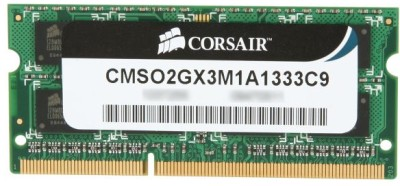 Buy Corsair DDR3 2 GB Laptop RAM (CMSO2GX3M1A1333C9): RAM