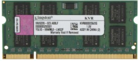 Kingston ValueRAM DDR2 2 GB Laptop DRAM (KTH-ZD8000B/2G)