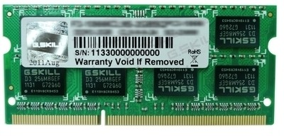 Buy G.Skill SQ For MAC DDR3 4 GB (1 x 4 GB) Mac RAM (FA-8500CL7S-4GBSQ): RAM