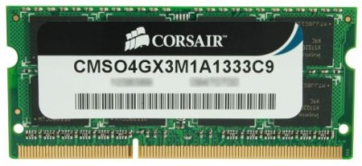 Buy Corsair DDR3 4 GB Laptop RAM (CMSO4GX3M1A1333C9): RAM