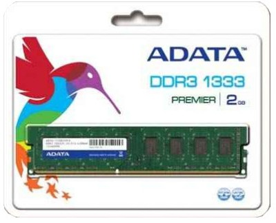 Buy ADATA Premier DDR3 2 GB PC RAM (AD3U1333C2G9-R): RAM