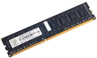 Buy G.Skill NT DDR3 4 GB (1 x 4 GB) PC RAM (F3-10600CL9S-4GBNT): RAM