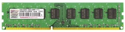 Buy Transcend DDR3-1333/PC3-10600 DDR3 2 GB PC RAM (JM1333KLN-2G): RAM