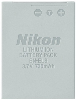 Buy Nikon EN-EL8 Rechargeable Li-ion Battery: Rechargeable Battery