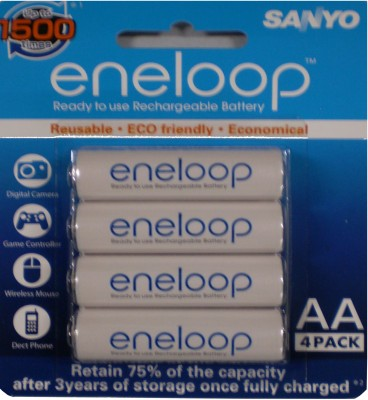 Buy Sanyo (Pre-Charged) 4HR-3UTG-SECP BP Rechargeable Battery: Rechargeable Battery