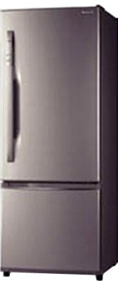Buy Panasonic NR-BW465VNX1 Double Door- Bottom Freezer 372 Litres Refrigerator: Refrigerator