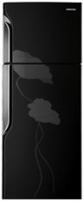 Samsung RT2735TNBBL Double Door   Top Freezer 255 Litres Refrigerator Lily Black available at Flipkart for Rs.19180