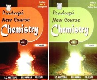 Pradeep's New Course Chemistry (Class-XII) (Set Of 2 Volumes): Regionalbooks