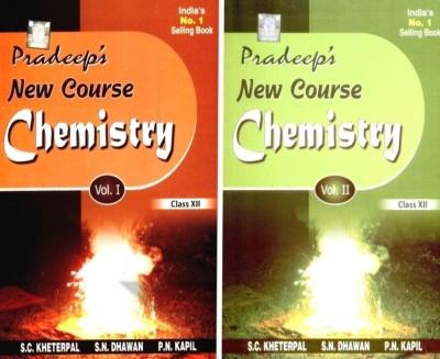 Buy Pradeep's New Course Chemistry (Class-XII) (Set Of 2 Volumes): Regionalbooks