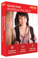 Quick Heal AntiVirus Pro 2012 2 PC 1 Year: Security Software