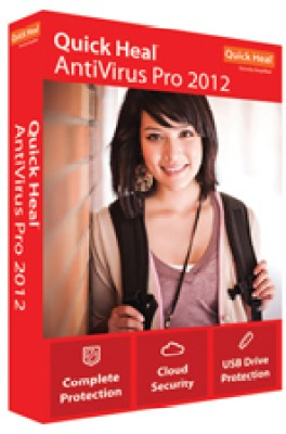 Buy Quick Heal AntiVirus Pro 2012 2 PC 1 Year: Security Software