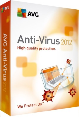 Buy AVG Anti-Virus 2012 1 PC 1 Year: Security Software